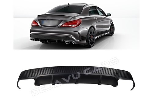 OEM LINE CLA 45 AMG Look Diffusor für Mercedes Benz CLA-Klasse W117 / C117 / X117