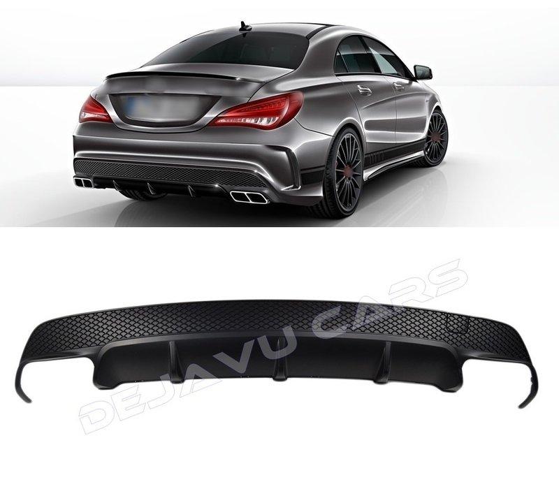 CLA 45 AMG Look Diffuser voor Mercedes Benz CLA-Klasse W117 / C117 / X117