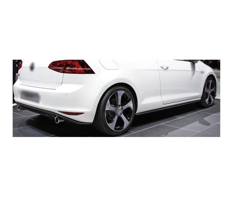 GTI Look Diffuser voor Volkswagen Golf 7