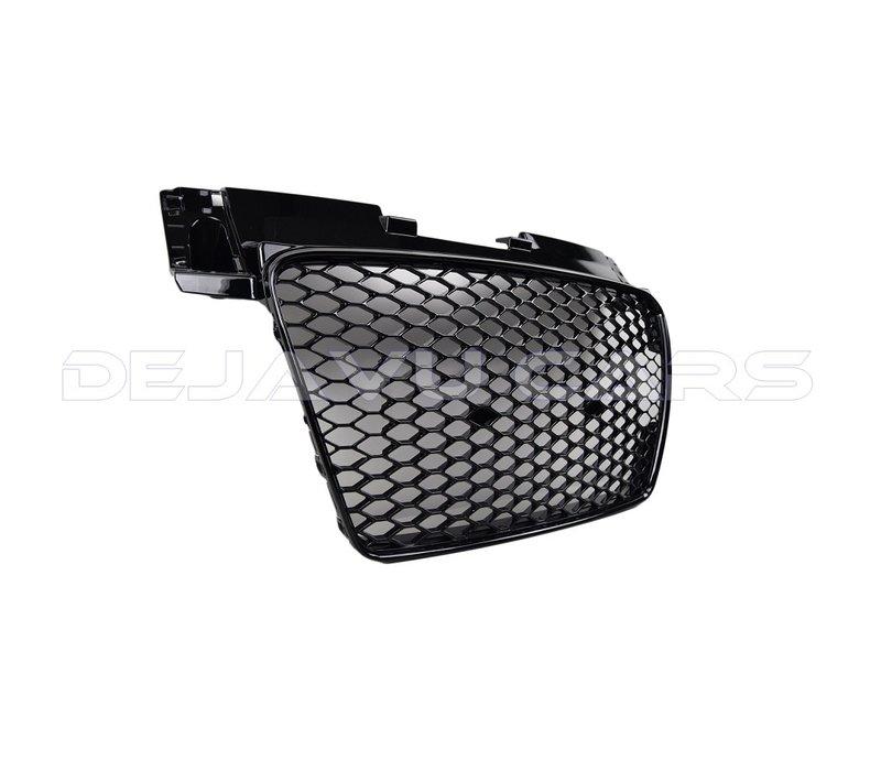 TT RS Look Kühlergrill Black Edition für Audi TT 8J