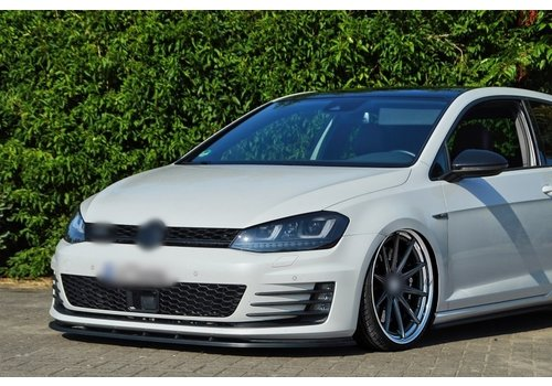 OEM LINE Front Splitter for Volkswagen Golf 7 GTI / GTD