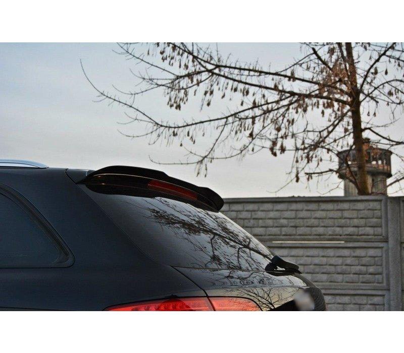 Dakspoiler extension voor Audi A4 B8 / B8.5 Avant