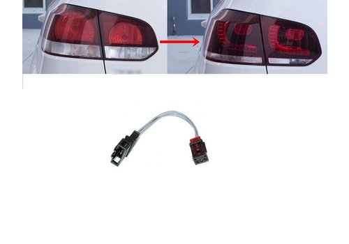 OEM LINE® Adapter kabel voor Volkswagen Golf 6 LED Achterlichten