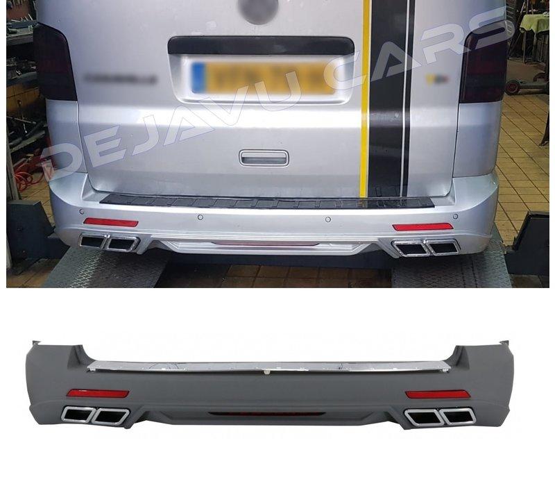 Sportline Look Rear bumper for Volkswagen Transporter T5