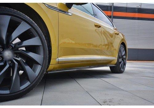 Maxton Design Side skirts Diffuser voor Volkswagen Arteon