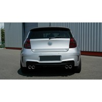 M1 Look Achterbumper voor BMW 1 Serie E81 / E87