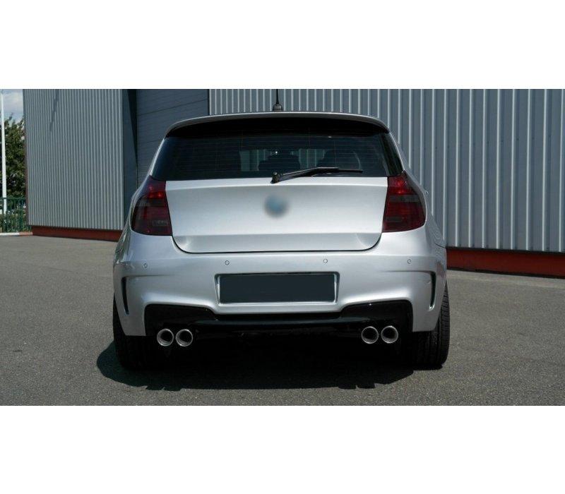 M1 Look Rear bumper for BMW 1 Series E81 / E87