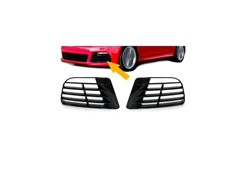 OEM LINE Bumper Grill for Volkswagen Polo 6R R20 Look Front bumper