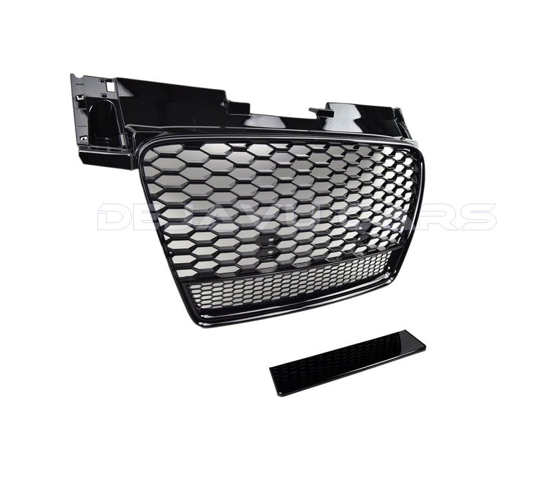 TT RS QUATTRO Look Front Grill Black Edition for Audi TT 8J