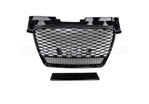 OEM LINE TT RS QUATTRO Look Front Grill Black Edition for Audi TT 8J