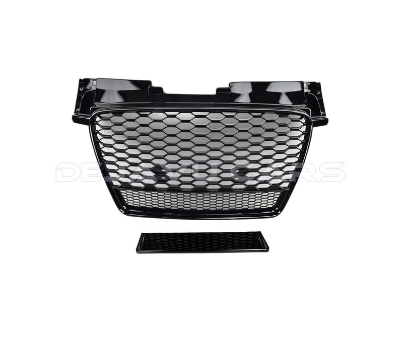 TT RS QUATTRO Look Kühlergrill Black Edition für Audi TT 8J
