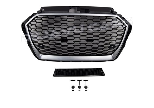 OEM LINE RS3 Look Front Grill  for Audi A3 8V