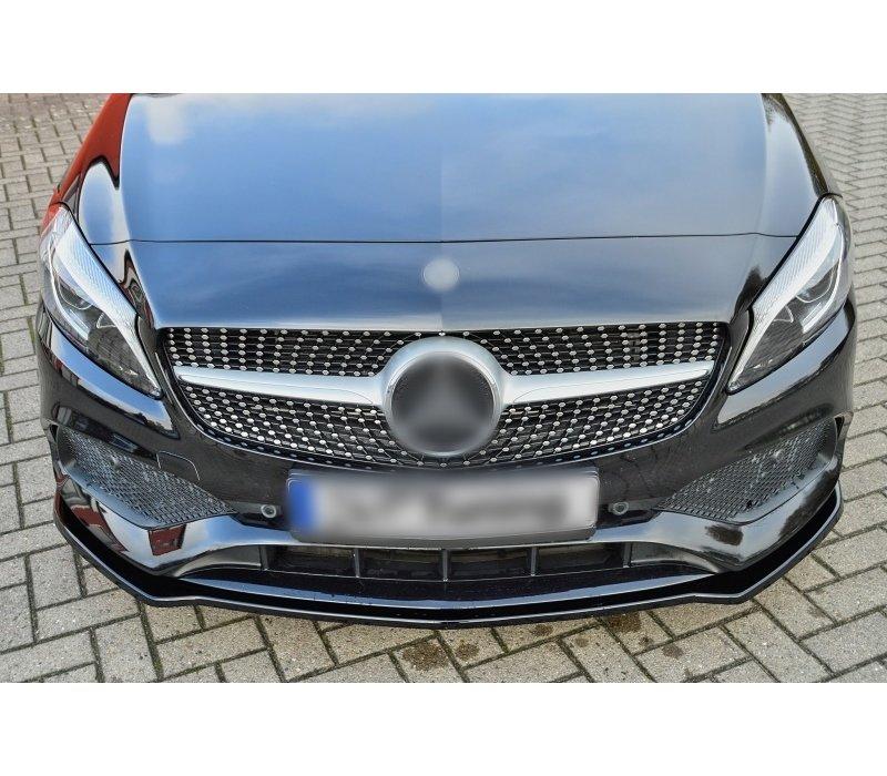 Front Splitter voor Mercedes Benz A-Klasse W176 Facelift