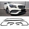 OEM LINE CLA 45 Look Spoiler set voor Mercedes Benz CLA-Klasse W117 / C117 Facelift