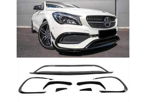 OEM LINE CLA 45 Look Spoiler set for Mercedes Benz CLA-Class W117 / C117 Facelift