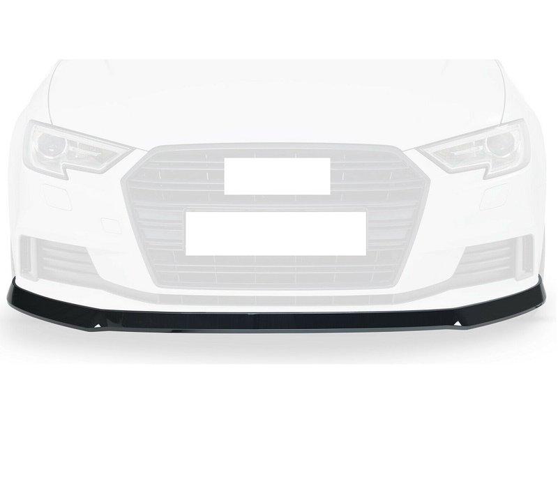 Front splitter voor Audi A3 8V Facelift