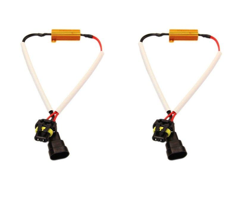 CANBUS LED Weerstands Kabel   H7 / H8 / H11 / HB4