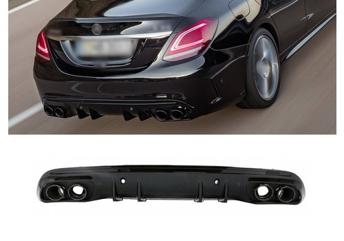 OEM LINE® C43 AMG Look Diffuser for Mercedes Benz C-Class W205 / S205