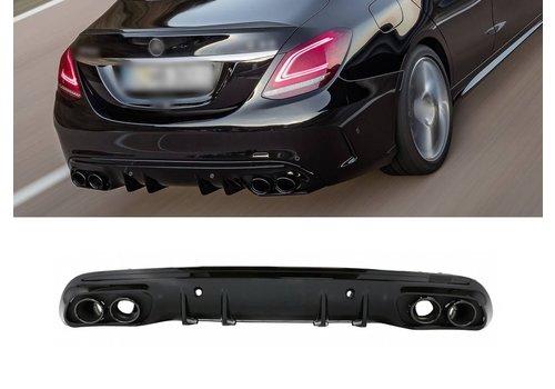 OEM LINE C43 AMG Look Diffuser voor Mercedes Benz C-Klasse W205 / S205