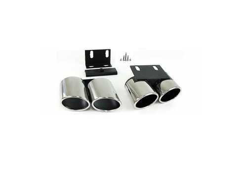OEM LINE® S3 Look Exhaust Tail pipes set for Audi A3 8V