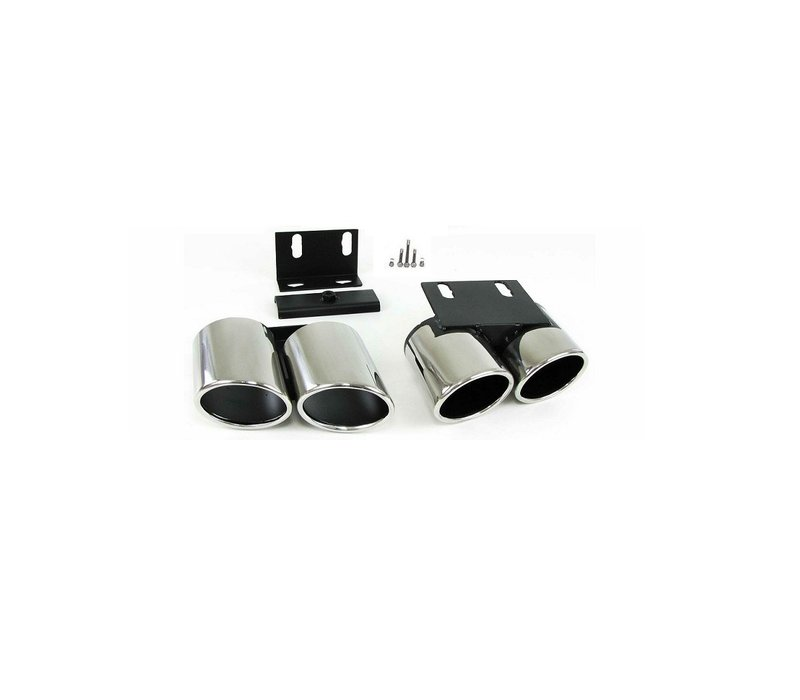 S3 Look Exhaust Tail pipes set for Audi A3 8V