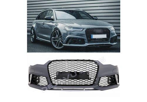 OEM LINE RS6 Look Voorbumper voor Audi A6 C7.5 Facelift