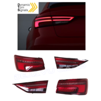 Facelift Dynamische LED Achterlichten voor Audi A3 8V Sedan