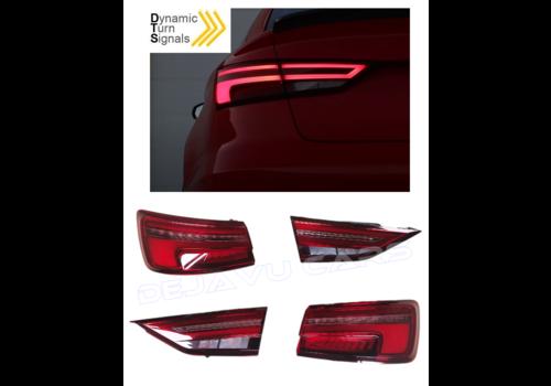 OEM LINE Facelift Dynamische LED Achterlichten voor Audi A3 8V Sedan