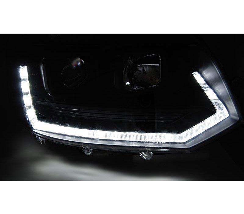 T6 Xenon Look Dynamisch LED Scheinwerfer für Volkswagen Transporter T5