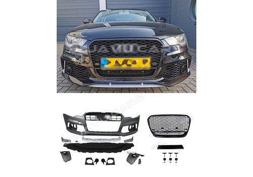 OEM LINE RS6 Look Front bumper for Audi A6 C7 4G
