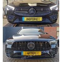 GT-R Panamericana Look Front Grill voor Mercedes Benz CLA-Klasse W118 / C118 / X118