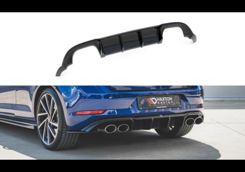 Maxton Design Aggressive Diffuser voor Volkswagen Golf 7.5 Facelift / R / R line / GTI / GTD