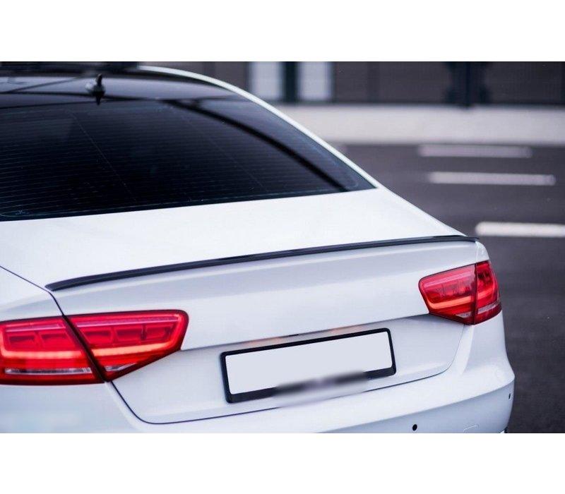 Tailgate spoiler lip for Audi A8 D4