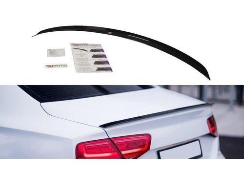 Maxton Design Tailgate spoiler lip for Audi A8 D4