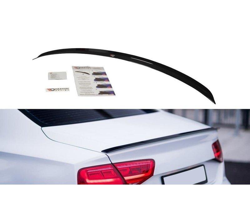 Achterklep spoiler lip voor Audi A8 D4