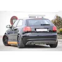 S3 / RS3 look Diffuser voor Audi A3 8P