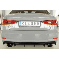 RS3 Look Diffusor für Audi S3 8V / S line