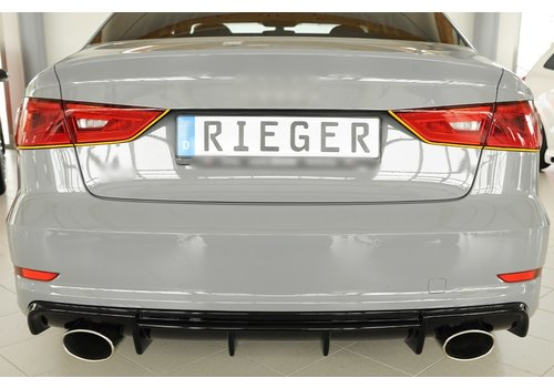 Rieger RS3 Look Diffuser for Audi S3 8V / S line