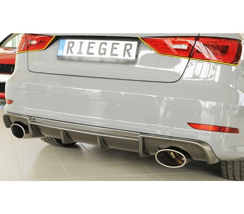 RS3 Look Diffuser voor Audi S3 8V / S line