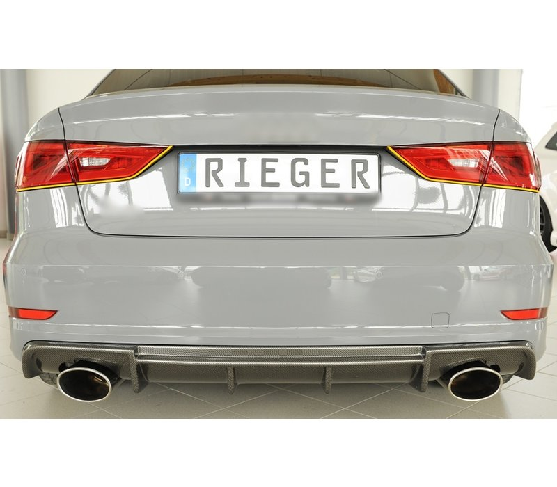 RS3 Look Diffuser for Audi S3 8V / S line