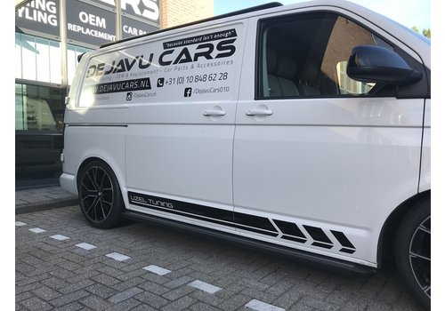 OEM LINE Running boards Set for Volkswagen Transporter T5.1 & T6