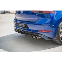 Aggressive Diffuser for Volkswagen Golf 7.5 Facelift / R / R line / GTI / GTD