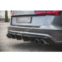 Aggressive Diffusor für Audi A6 C7 / S line / S6