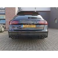 Aggressive Diffuser voor Audi A6 C7 / S line / S6