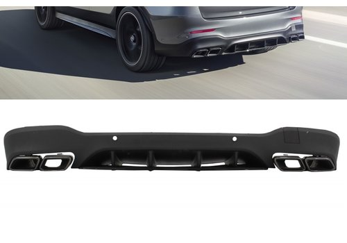 OEM LINE GLC 63 AMG Look Diffuser for Mercedes Benz GLC X253