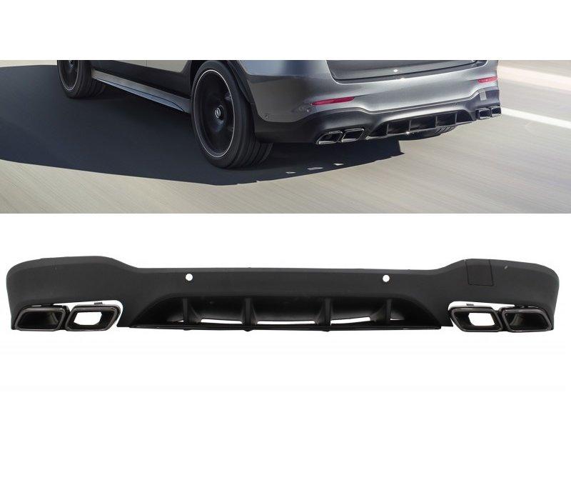 GLC 63 AMG Look Diffusor für Mercedes Benz GLC X253
