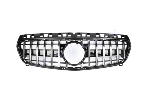 OEM LINE GT-R Panamericana Look V.2 Front Grill for Mercedes Benz A-Class W176