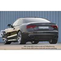 RS5 Look Diffuser voor Audi A5 8T Coupe / Cabrio S line / S5