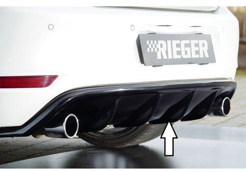 Rieger Aggressive Diffuser voor Volkswagen Golf 6 GTI / GTD