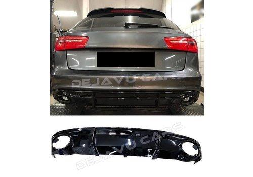 OEM LINE RS6 Look Diffusor für Audi A6 C7 S line / S6